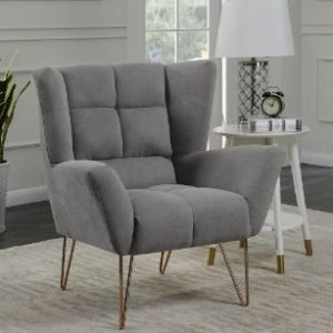 LACY CHAIR LIGHT GREY
