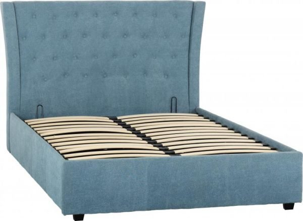 CAMDEN_4ft6_PLUS_BED_BLUE_FABRIC