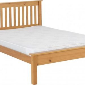 MONACO_4ft6_LOW_END_BED_ANTIQUE_PINE