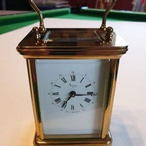 asprey of London brass clock