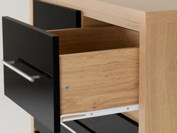 seville 3+2 drawer locker