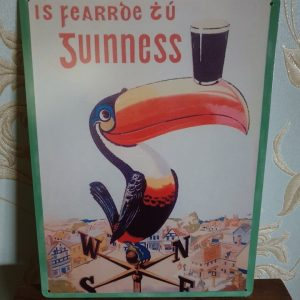 Tocan Guinness metal sign